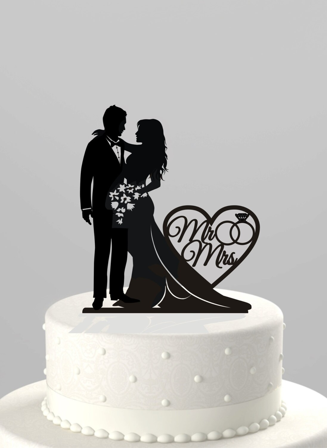 Wedding cake topper silhouette bride and groom with mr zoom junglespirit Image collections