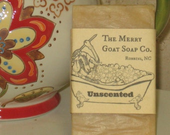 Unscented Goat's Milk Soap Bar