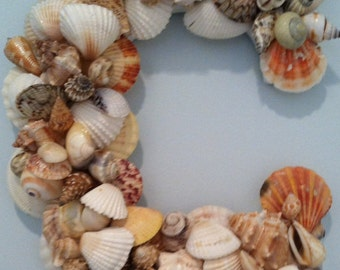 Beach Decor - Shell Letter -  Wall Hanging - All Letters Available