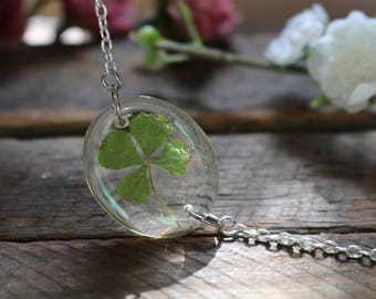 Oval Four Leaf Clover Bracelet