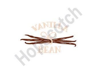 Vanilla Beans - Machine Embroidery Design