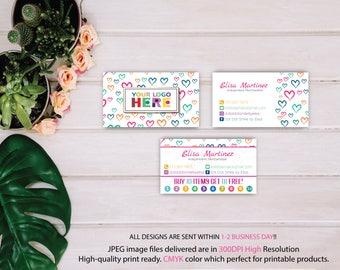 Dot Dot Smile Business Card, Dot Dot Smile Punch Card, Dot Dot Smile, DDS Business Card, DDS Marketing, Printable Digital DD19