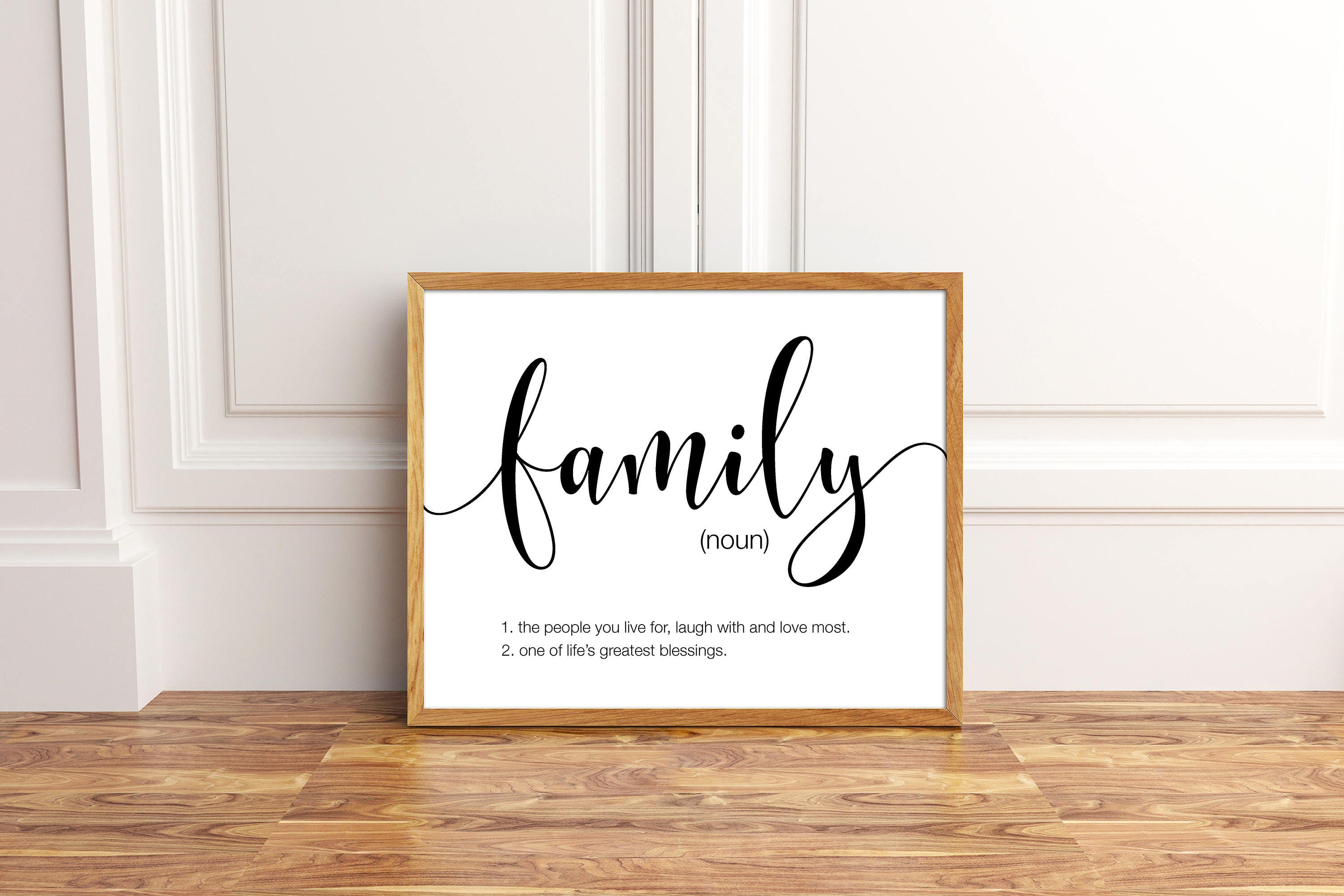 Love Quote Signs Family Printable Family Wall Art Family Decor Family Quote