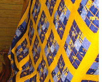 Queen size Quilt LSU
