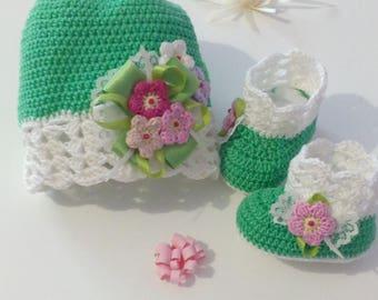 Set Girl crochet