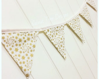 Star Bunting, Christmas bunting, Christmas decoration, Christmas decor