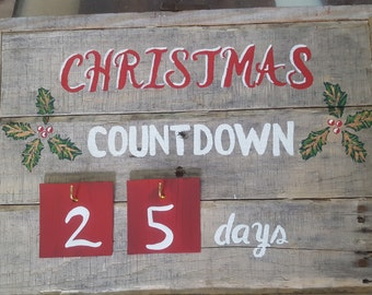 Christmas Countdown 25 days
