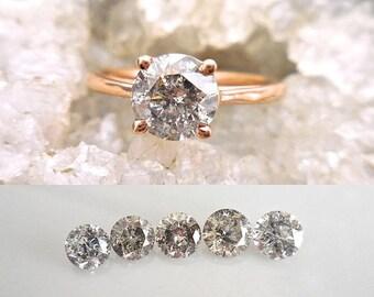 Payment for Chase -  Custom Salt & Pepper diamond ring