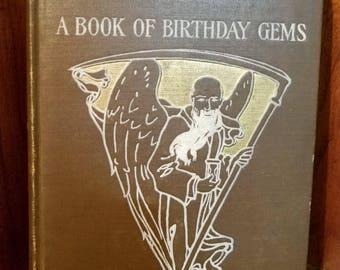 Whittier A Book Of Birthday Gems, 1905