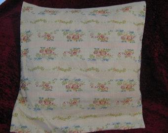 Silk Flower Pillow