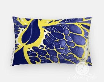 12x20 Lumbar Pillow- Blueberry Lemonade- Fluid