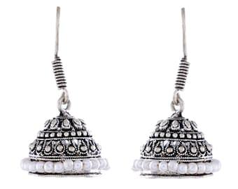 Lavish River Pearl 925 Silver Earrings