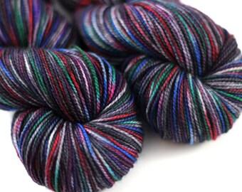 Graffiti - 80/20 Superwash Merino Nylon Twistie Sock