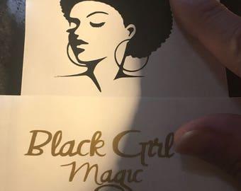 Black Girl Magic decal