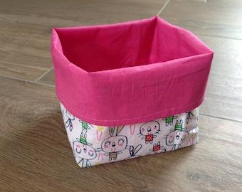 Pink rabbit patterns Oddments