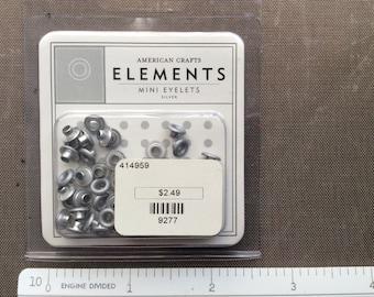 Mini eyelets (Silver)