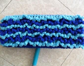 Blue Swiffer Cloth - Blue Floor Dusting Cloth - Blue Swiffer Duster - Blue Swiffer Floor Cloth - Blue Floor Duster - Washable Swiffer