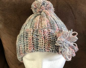 Pretty ladies crochet hat