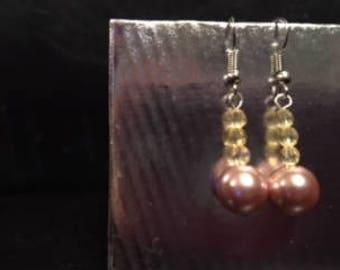 medium-sized dangle earrings