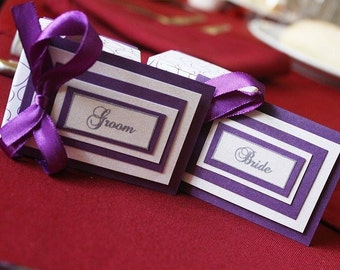 Wedding Place Cards x 25