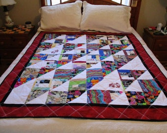 Dragon Tooth Accent Quilt