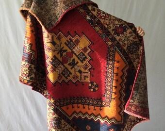 LAST ON SALE 35% Turkish tribal rug,  wool  4x6ft