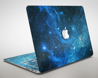 Blue Hue Nebula - Apple MacBook Air or Pro Skin Decal Kit (All Versions Available)