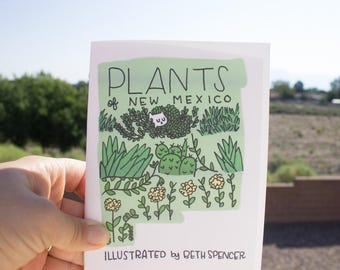 Illustrated Zine / Plants Zine / New Mexico / Illustration / Art Zine / Plant Drawings / Zine / Plant Illustrations / Indie Zine / ABQ
