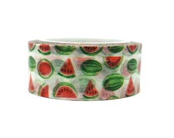 Washi tape watermelon / washi tape repositionable fruit