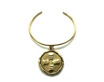 Large Medallion Cuff
