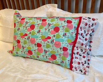 Red Riding Hood No Seam Pillowcase