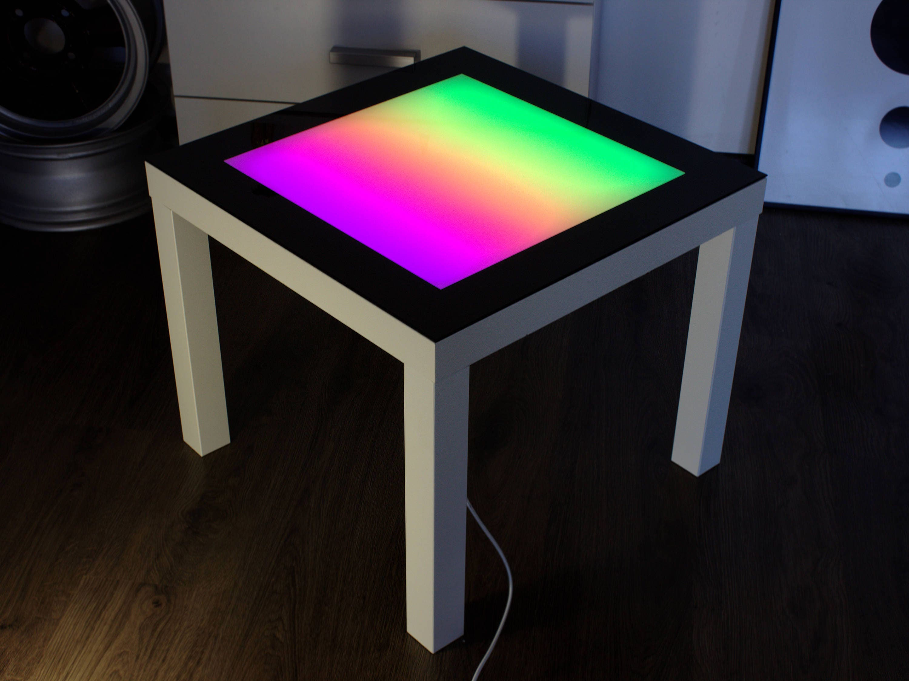 Tetris Game Console Led Pixel Table Retro Gaming 80s