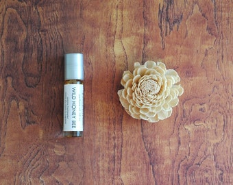 Wild Honey Bee Perfume Oil, Roll On Perfume Sweet Fragrance