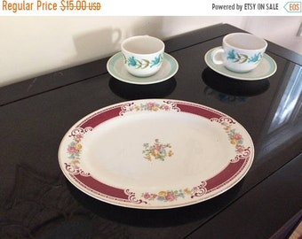 Final Homer Laughlin Small China Platter