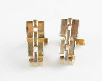 Vintage Swank Chain Link Cuff Links