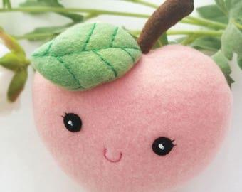 Miss Sweet Peach Plush