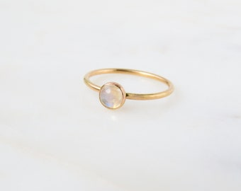 Moonstone Ring   Gemstone Ring   Rainbow Moonstone Ring   Personalized Ring   Birthstone Ring   Birthday Gift   Mothers Ring   Gift for her