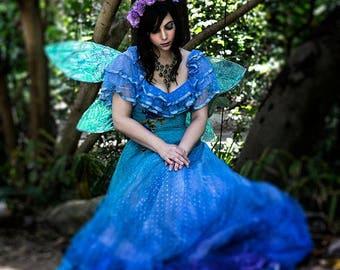 Upcycled Fairy Wedding Dress size 2