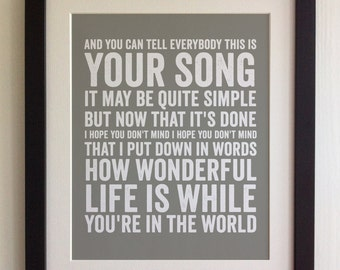 ... Elton John Songs Lyrics apk screenshot ...