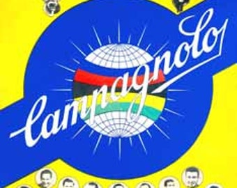Campagnolo and Stars Poster  • FREE domestic Shipping!