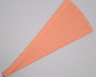 Salmon : Lucky Stars Paper Strips (100)
