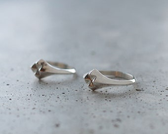 Four Spikes Ring