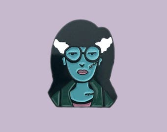 90's Zombie Daria Enamel Pin MTV