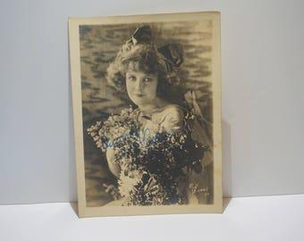 Vintage Photo, Silent Film Actress
