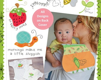 Lil Sprout: Baby Appliques & Burp Cloths Embroidery CD; KimberBell; KD551; Baby Shower