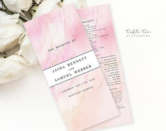 Once Upon A Time - Wedding Programs (Style 13671)