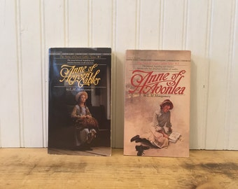 Anne of Green Gables Anne of Avonlea Paperback books Young Adult Fiction L M Montgomery