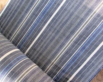 Guatemalan Fabric in Light Weight Chambray Stripe