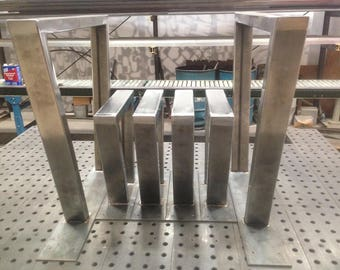 Steel Trapezoid Legs