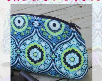 Quilted Makeup Bag PDF Pattern For Instant Download